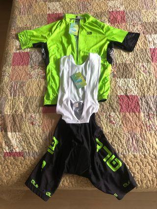 Set jersey y pantalón ciclismo