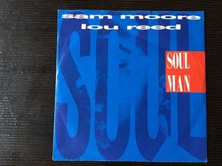 LOU REED + SAM MOORE SINGLE VINILO SOUL MAN