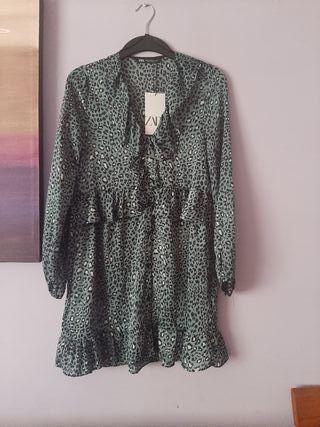 vestido temporada Zara estampado