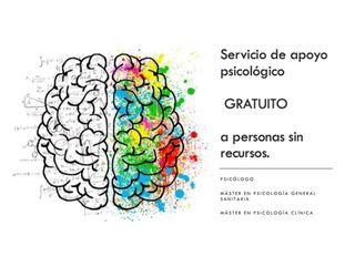 SERVICIO DE APOYO PSICOLÓGICO GRATUITO