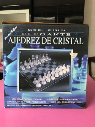 Ajedrez de cristal Edición Clásica 32 piezas