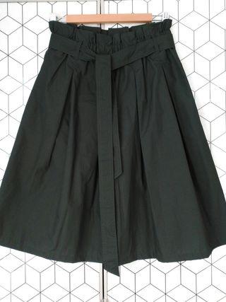 Falda negra de H&M Talla 38