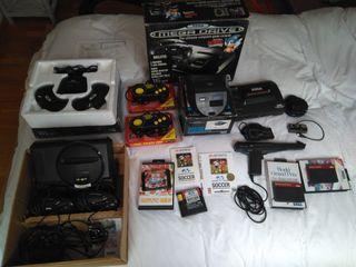 Super lote Sega MegaDrive / Máster System II