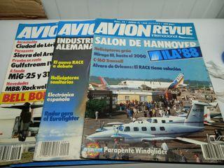 x 3 Avion revue