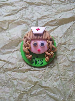 Pin enfermera