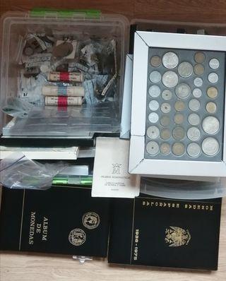 Colección de monedas antiguas España