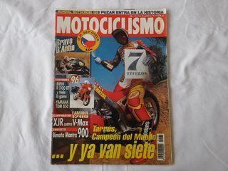 Yamaha XJR - VMax 1200 Motociclismo nº 1435