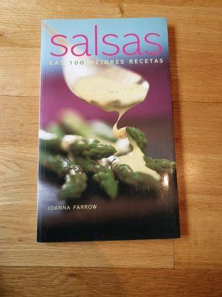 libro de cocina 100 recetas de salsas