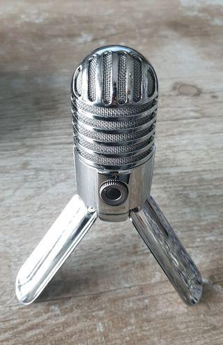 Microfono de estudio Meteor Mic Samson