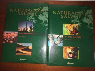 Lote 6 Tomos Naturaleza Salvaje