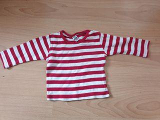 Camiseta bebe 3/6 meses de Zara