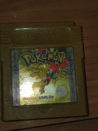 pokemon edicion oro (game boy)
