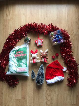 Set decoración Navidad