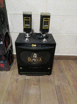 Maquina dispensadora de Tequila Olmeca