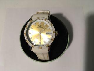 Reloj Viceroy blanco y dorado