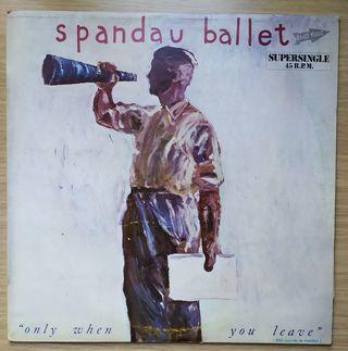 Disco de Vinilo MAXI Spandau Ballet Only When You