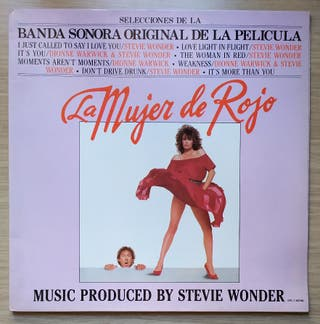 Disco de Vinilo Stevie Wonder La mujer de rojo