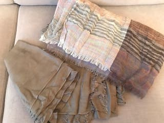 Kit 2 foulards