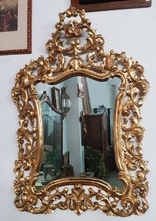 Espejo Barroco Pan de oro fino