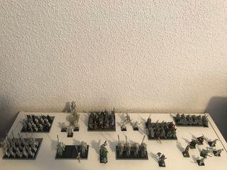 Ejército elfos oscuros warhammer