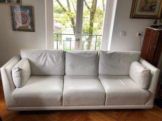 Liquido sillón italiano de 3 pl en piel ( 7 fotos