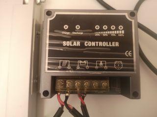 Placa Solar portatil maletin 40W
