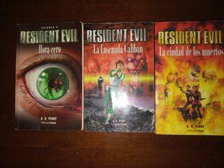 Resident Evil Libros