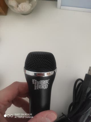 microfono guitar hero ps3