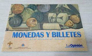 Album de Monedas y Billetes en la Historia Tenerif