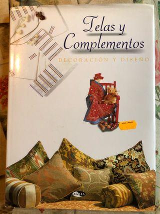 Libro Telas y Complementos. Decoración y diseño.
