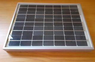 placa solar pequeña 10W