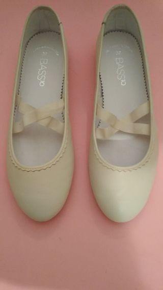 Zapatos manoletinas Comunión niña