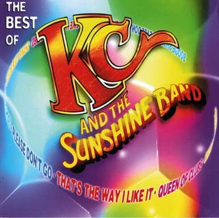 KC AND THE SUNSHINE BAND. THE BEST OF. CD.