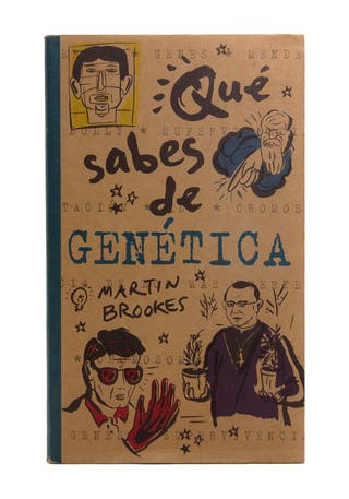 Ediciones B Qué sabes de genética, Martin Brookes