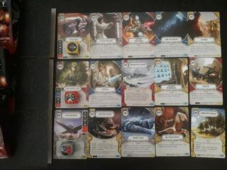 Star Wars Destiny Lote* Cartas y dados