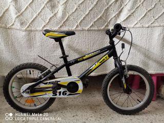 bicicleta de niño 16 pulgadas