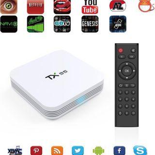 Smart TV box. Tx95. convierte tu TV en Smart TV