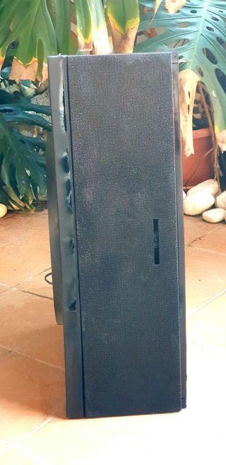 Subwofer giratorio 2 vias Madera Thomson SBX 100 ( Mas imagen y sonido en mi perfil