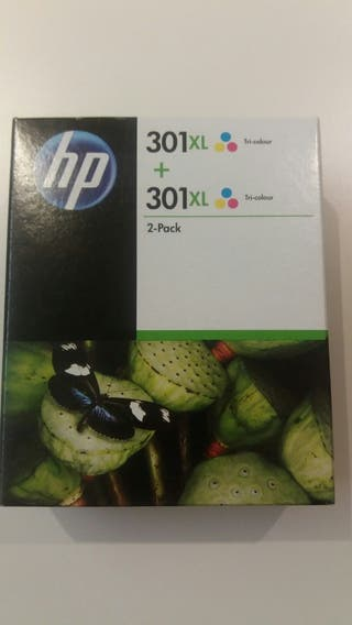 Cartuchos tinta hp 301 xl