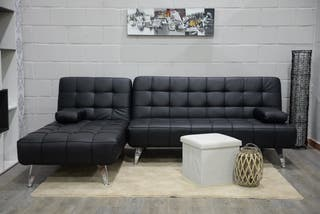 Sofá-cama chaise-longue reversible *240cm AA