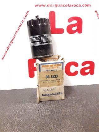 FILTRO DE ACEITE PBR BG-1533 FIAT - SEAT (DIESEL)
