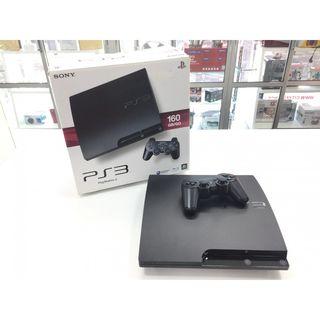 CONSOLA SONY PLAYSTATION PS3 SLIM 160GB CON MANDO
