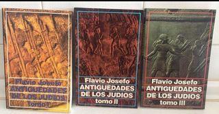 ANTIGUEDADES DE LOS JUDIOS. FLAVIO JOSEFO.