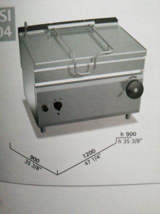 sartén basculante gas 120 litros