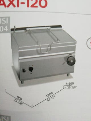 sartén basculante eléctrica 120 litros