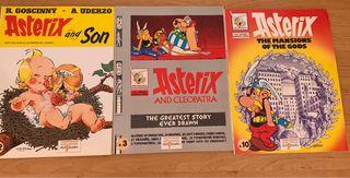 Tebeos Adterix en inglés