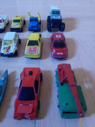 Lote de coches guisval