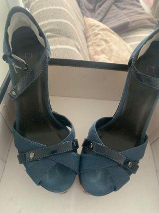 Zapato/ sandalia cuña