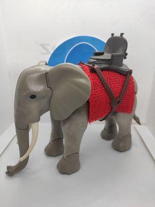 Playmobil elefante con silla