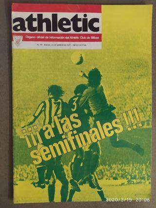 Colección revistas Athletic de Bilbao 1975-1978